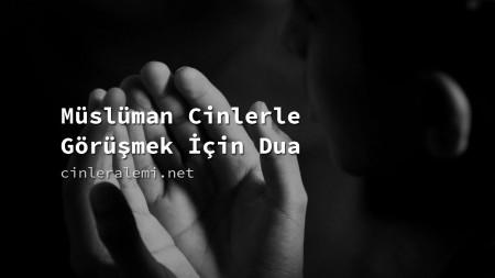 Müslüman Cinlerle Görüşmek İçin Dua